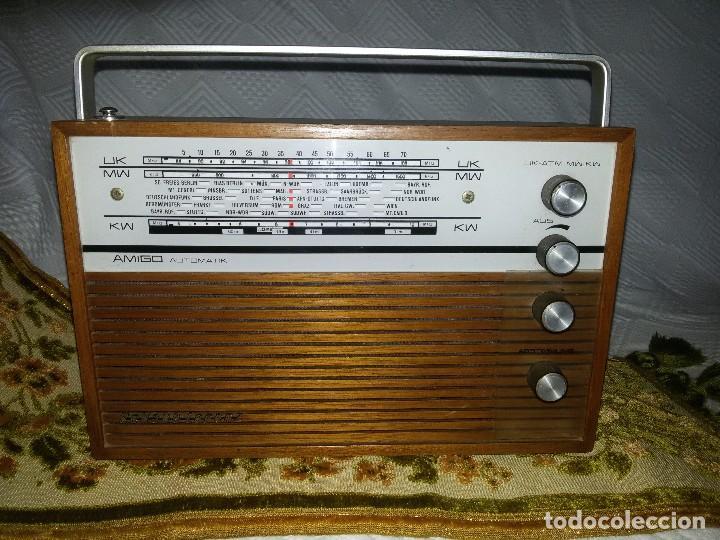 RADIO DE COLECCIÓN-SCHAUB-LORENZ AMIGO TK 121061 (Radios, Gramófonos, Grabadoras y Otros - Transistores, Pick-ups y Otros)