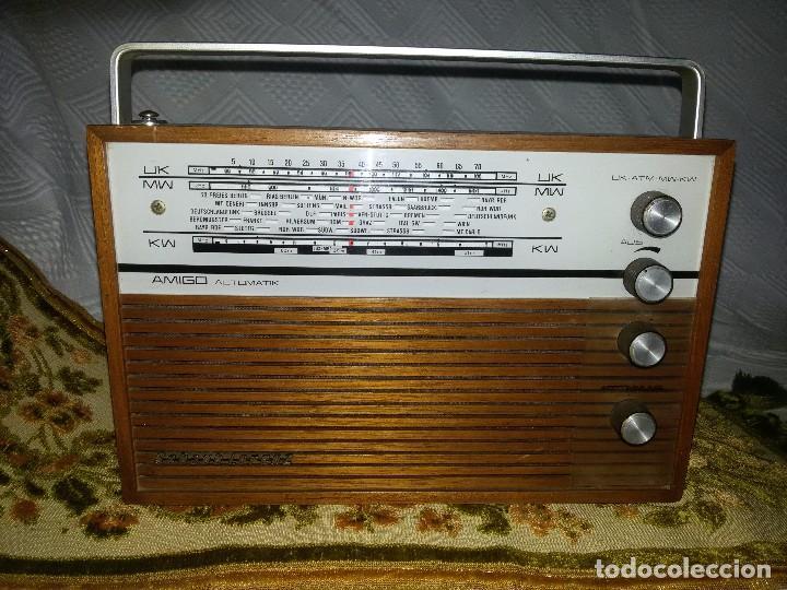 Radios antiguas: RADIO DE COLECCIÓN-SCHAUB-LORENZ AMIGO TK 121061 - Foto 2 - 92996325