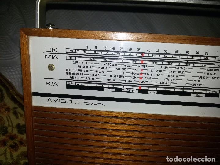 Radios antiguas: RADIO DE COLECCIÓN-SCHAUB-LORENZ AMIGO TK 121061 - Foto 4 - 92996325
