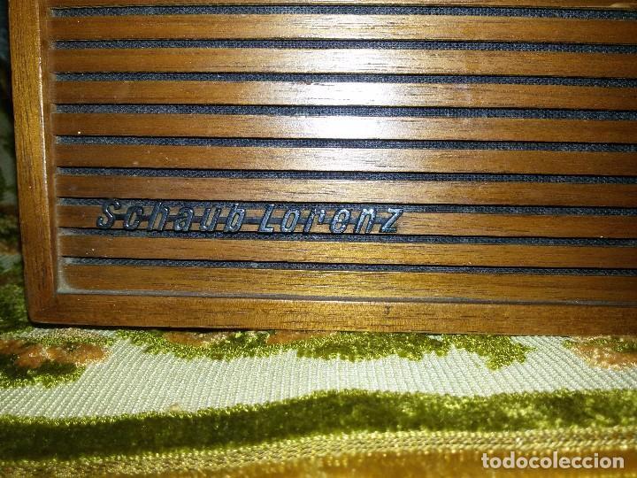 Radios antiguas: RADIO DE COLECCIÓN-SCHAUB-LORENZ AMIGO TK 121061 - Foto 6 - 92996325