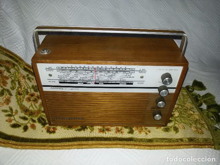 Radios antiguas: RADIO DE COLECCIÓN-SCHAUB-LORENZ AMIGO TK 121061 - Foto 7 - 92996325