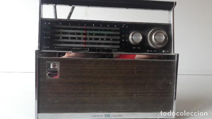 RADIO AMERICANA TRANSISTORES FUNCIONANDO (Radios, Gramófonos, Grabadoras y Otros - Transistores, Pick-ups y Otros)