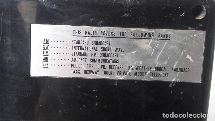 Radios antiguas: Radio americana transistores funcionando - Foto 2 - 93025495