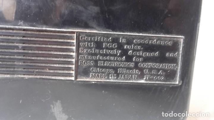Radios antiguas: Radio americana transistores funcionando - Foto 3 - 93025495