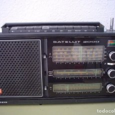 Radios antiguas: RADIO MULTIBANDAS GRUNDIG SATELLIT 2000. Lote 129255111