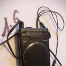 Radios antiguas: ANTIGUO RADIO TRANSISTOR PHILIPS AM-FM. Lote 93399395