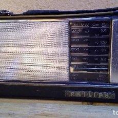 Radios antiguas: RADIO TRANSISTOR PHILIPS MINISTOR II FUNCIONANDO. Lote 93403595