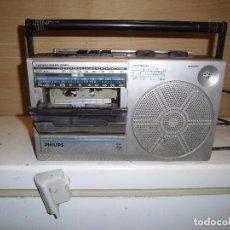 Radios antiguas: RADIO CASETTE PHILIPS D 7130. Lote 94327038