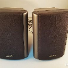 Radios antiguas: PAREJA DE ALTAVOCES AIWA MODELO SX-R80. 40W. Lote 94563927