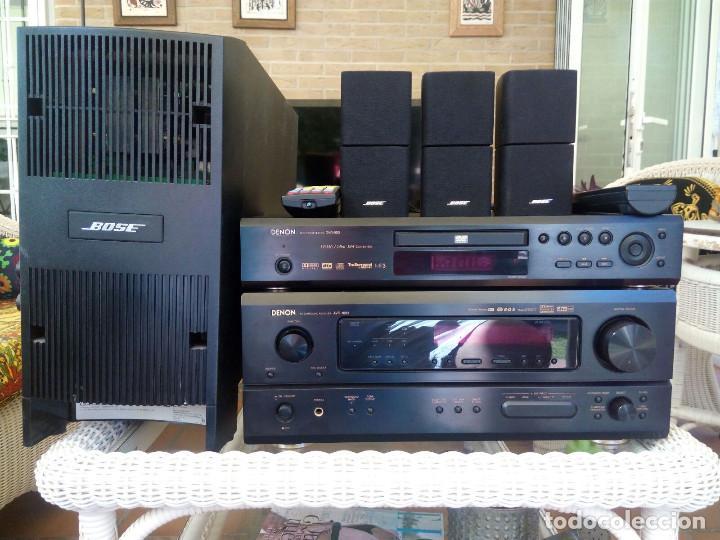 HOME CINEMA DENON AVR 1803+BOSE+DVD (Radios, Gramófonos, Grabadoras y Otros - Transistores, Pick-ups y Otros)