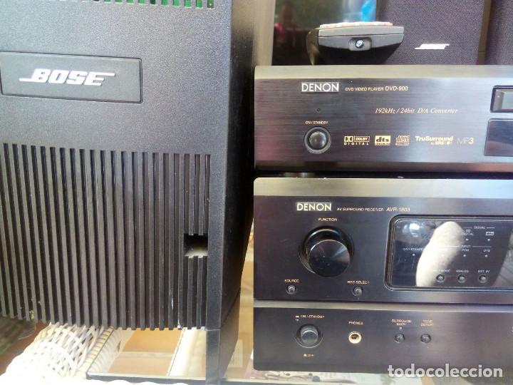 Radios antiguas: HOME CINEMA DENON AVR 1803+BOSE+DVD - Foto 2 - 94639935