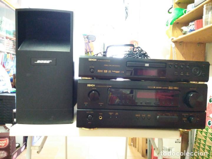 Radios antiguas: HOME CINEMA DENON AVR 1803+BOSE+DVD - Foto 4 - 94639935