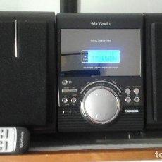 Radios antiguas: EQUIPO DE MUSICA MX ONDA CON MANDO A DISTANCIA. Lote 94804579