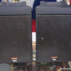 Radios antiguas: PAREJA ALTAVOCES JBL CONTROL 5, MADE IN CALIFORNIA. Lote 94929943