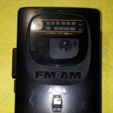 Radios antiguas: AIWA HS T10 RADIO CASSETTE WALKMAN. Lote 94189859