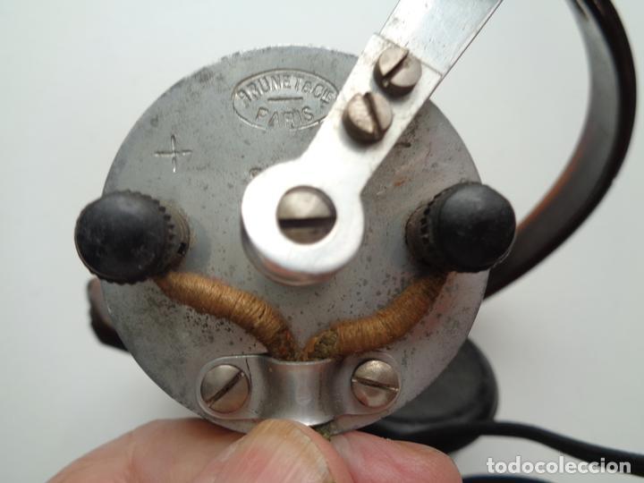 Radios antiguas: AURICULARES CON ACCESORIOS.2ª GUERRA MUNDIAL - Foto 8 - 95640019