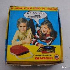 Radios antiguas: COMEDISCOS COME DISCOS AÑOS 60 . MINITOC DE BIANCHI. Lote 95814539