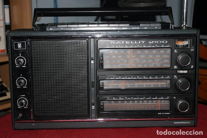 RECEPTOR GRUNDIG (Radios, Gramófonos, Grabadoras y Otros - Transistores, Pick-ups y Otros)