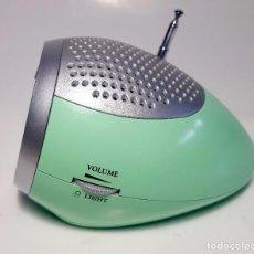 Radios antiguas: RADIO DESPERTADOR VINTAGE. FALTA TAPA DE PILAS. Lote 96545359
