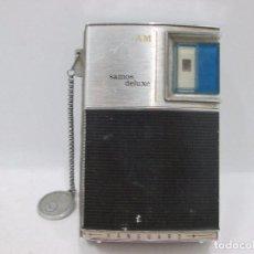 Radios antiguas: A-310 / RADIO VANGUARD SAMOS DELUXE - INCLUYE CORREA ORIGINAL - NUNCA PROBADA. Lote 96573011
