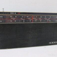 Radios antiguas: A-315 / RADIO LAVIS TRANSISTOR 320 B - COMPLETA - NUNCA PROBADA. Lote 96580431