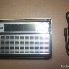 Radios antiguas: RADIO PUNTO AZUL MODELO NO.HSS-41 CON SU CAJA ORIGINAL - FUNCIONA. Lote 96710643