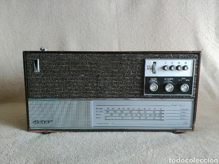 RADIO INTER EUROMODUL 90 (AÑO 1966). FUNCIONANDO!! (Radios, Gramófonos, Grabadoras y Otros - Transistores, Pick-ups y Otros)