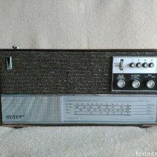 Radios antiguas: RADIO INTER EUROMODUL 90 (AÑO 1966). FUNCIONANDO!!. Lote 96896942