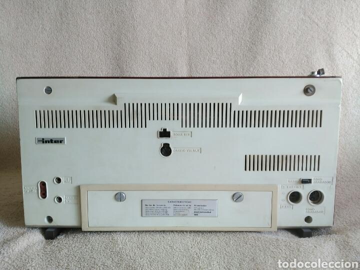 Radios antiguas: RADIO INTER EUROMODUL 90 (AÑO 1966). FUNCIONANDO!! - Foto 3 - 96896942