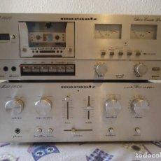 Radios antiguas: EQUIPO DE MUSICA MARANTZ SD 1010 Y MODEL 1050 CHATSWORTH,CALIFORNIA,USA,AÑOS 70. Lote 96964547