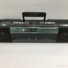 Radios antiguas: RADIO CASSETTE DOBLE PLETINA SONY CFS-W501L. Lote 97039230