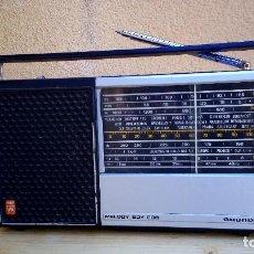 Radios antiguas: RADIO TRANSISTOR GRUNDIG MELODY BOY 600 FUNCIONANDO. Lote 97093219