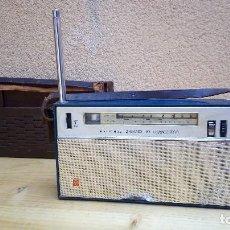 Radios antiguas: RADIO TRANSISTOR NATIONAL T 63 T FUNCIONANDO. Lote 97211611