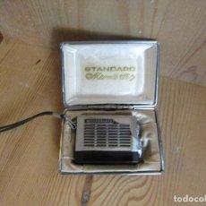 Radios antiguas: MINIRADIO STANDARD MICRONIC RUBY. AÑOS 60 . Lote 97229095