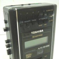 Radios antiguas: RADIO WALKMAN CASETE - TOSHIBA KT-4548 - STEREO SINGAPORE - CASETTE KT4548. Lote 97350491