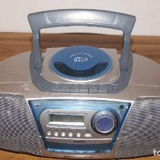 Radios antiguas: RADIO CD CASSETTE SANYO MCD-ZX700F BASSXSPANDER. Lote 97458671