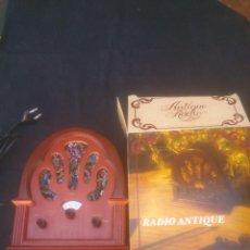 Radios antiguas: REPLICA ANTIQUE RADIO. Lote 122573980
