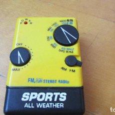Radios antiguas: RADIO FM - AM ALL WEATHER SPORTS - FUNCIONANDO . Lote 97617603