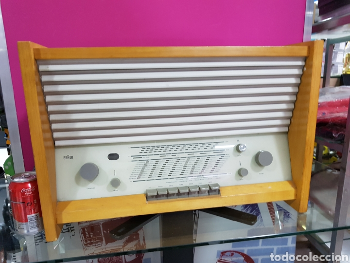 RADIO BRAUN DE 1950 (Radios, Gramófonos, Grabadoras y Otros - Transistores, Pick-ups y Otros)