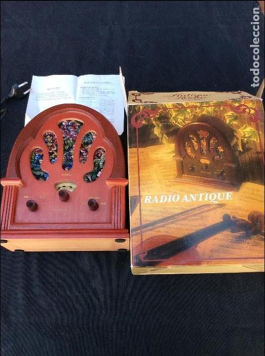 Radios antiguas: Réplica antique radio - Foto 2 - 97722903