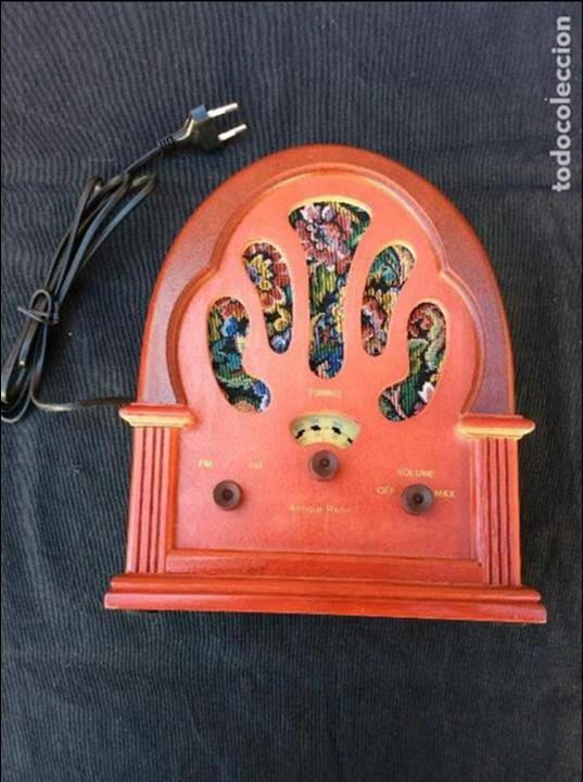 Radios antiguas: Réplica antique radio - Foto 3 - 97722903