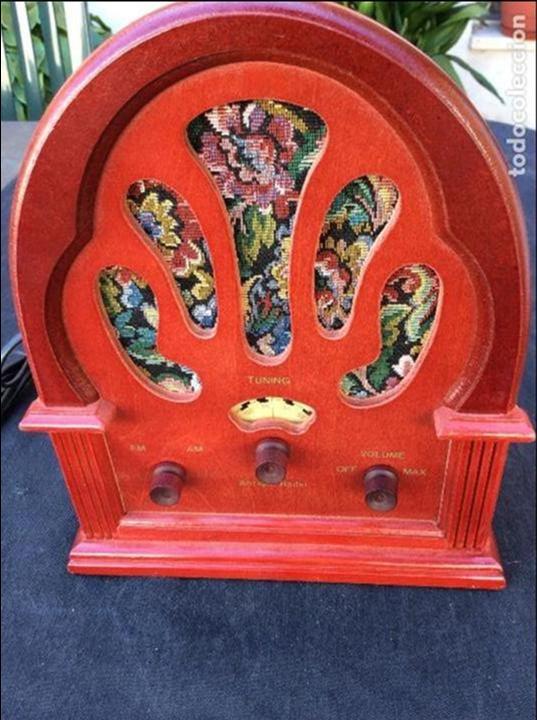 Radios antiguas: Réplica antique radio - Foto 4 - 97722903