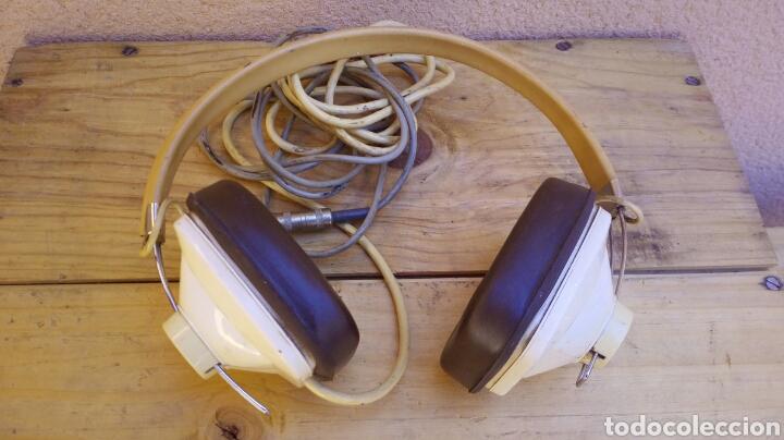 Radios antiguas: CASCOS AURICULARES KENWOOD STEREO PHONE AÑOS 60/70 FUNCIONANDO - Foto 2 - 97712731