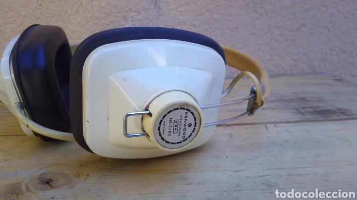 Radios antiguas: CASCOS AURICULARES KENWOOD STEREO PHONE AÑOS 60/70 FUNCIONANDO - Foto 3 - 97712731