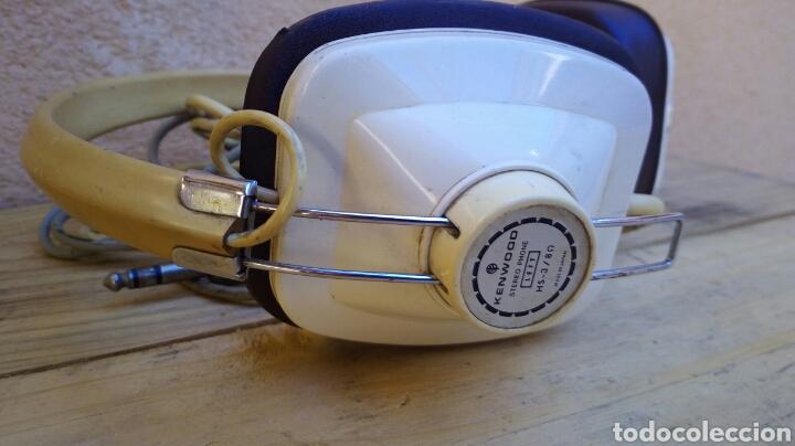 Radios antiguas: CASCOS AURICULARES KENWOOD STEREO PHONE AÑOS 60/70 FUNCIONANDO - Foto 4 - 97712731