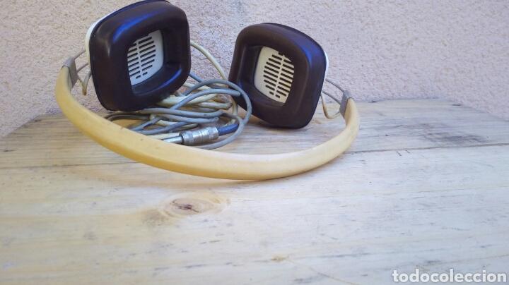 Radios antiguas: CASCOS AURICULARES KENWOOD STEREO PHONE AÑOS 60/70 FUNCIONANDO - Foto 7 - 97712731