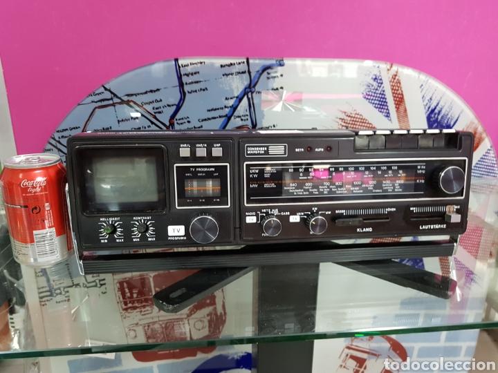 RADIOCASSETTE TV WINGSOUND ALEMAN (Radios, Gramófonos, Grabadoras y Otros - Transistores, Pick-ups y Otros)