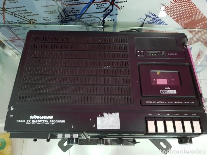 Radios antiguas: Radiocassette TV WINGSOUND ALEMAN - Foto 2 - 97762295