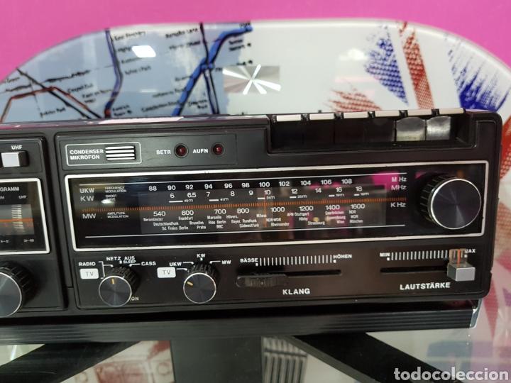 Radios antiguas: Radiocassette TV WINGSOUND ALEMAN - Foto 4 - 97762295