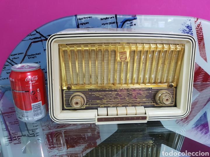 RADIO PHILIPS DE 1958 PHILETTA (Radios, Gramófonos, Grabadoras y Otros - Transistores, Pick-ups y Otros)